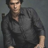 Vampire Diaries - Damon Salvatore - Chair Poster - 91.5x61cm