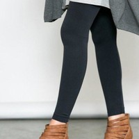 Slimming Solid Leggings