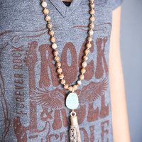 The Erica Necklace, Brown | BPD