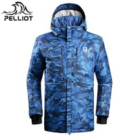 2018 New Pelliot Men and Women Outdoor Skiing Clothes For Wind Protection, Ski Jackets Breathable Single Board  Skiing Clothes