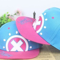 One Piece Tony Chopper Girls Snapback Baseball Anime Hat