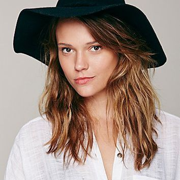 Free People Womens Extended Brim Clipperton