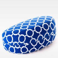 NAUTICAL PRINT SUNGLASSES CASE