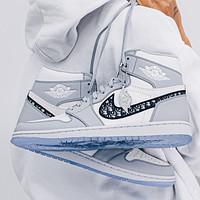 Dior x Nike Air Jordan 1 High-Top Basketball Shoes Sneakers Shoes