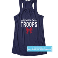 Support Our Troops tank top, Red Friday shirt, Fourth of July shirt, Army shirt, Air force shirt, Navy shirt, marines shirt, wife, mom