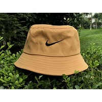NIKE 2018 summer classic small hook embroidery fisherman hat F-AG-CLWM Khaki