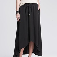 Banana Republic Womens High/Low Midi Skirt