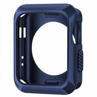 Shockproof Silicone Rubber Gel Skin TPU Soft Cases Covers for Apple iWatch 38mm 42mm without Screen Protector