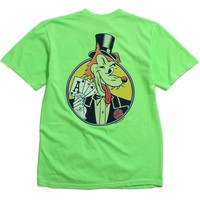 Ace Pigment Dyed T-Shirt Green