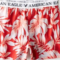 AEO Men's Tropical Boxer (Red)