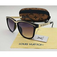 Louis Vuitton LV Woman Men Fashion Summer Sun Shades Eyeglasses Glasses Sunglasses-1