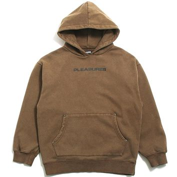 Burnout Dyed Hoodie Olive