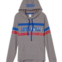 University of Kansas Pullover Hoodie - PINK - Victoria's Secret