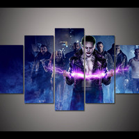 Dark Streets Suicide Squad 5 Panel Wall Art (50% Off + FREE Shipping)