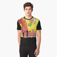 'Interdimensional Rick and Morty' Graphic T-Shirt by FlyNebula