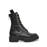 Steve Madden - KANYON - Leather Lace Up Boots