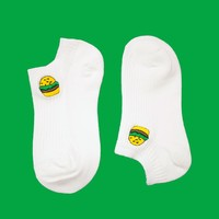 Foodie: Burger & Coke Ankle Sock Set (Set of 2)