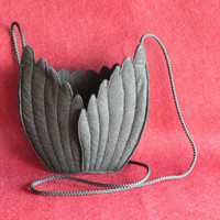 Winged Messanger Bag by AnniePeach on Etsy