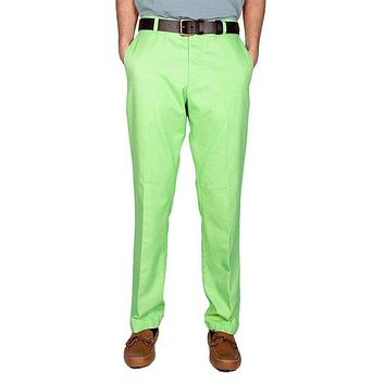 Trim Fit Skipjack Pants in Kiwi by Southern Tide