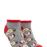 Taco Graphic Ankle Socks