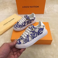 LV Child Girls Boys shoes Children boots Baby Toddler Kids Child Fashion Casual Sneakers Sport Shoes