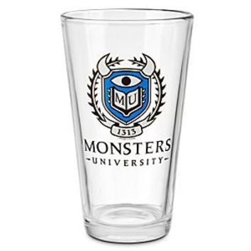 Monsters University Glass Tumbler | Disney Store