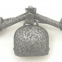 Silver Bell Pin - Russia (item #1333324)