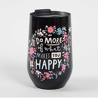 Do More Wine Tumbler