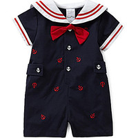 Starting Out 3-9 Months Anchor Shortall - Navy