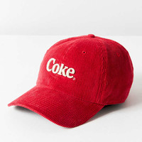 Coca-Cola Slouchy Corduroy Baseball Hat | Urban Outfitters