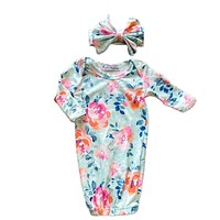 Emma Baby Gown + Bow