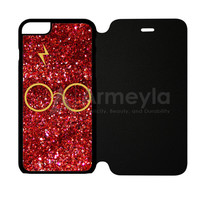 Harry Potter Face Vexel Art iPhone 6/6S Flip Case | armeyla.com