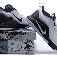 Nike Mens Lebron Zoom Witness 2.0 White/Black Sneakers US 8-12