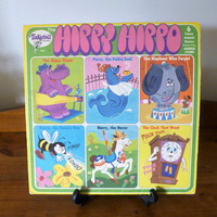 "Vintage 1970s LP Vinyl Record ""The Hippy Hippo - Funny Animal Stories Featuring Arnold Stang"" / Tinkerbell Records / Stories / Collectible"