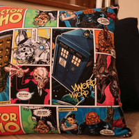Doctor Who Cushion Cover