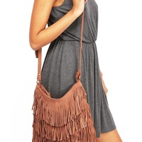 West Fringe Crossbody Bag