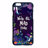 Alice's World We Are All Mad Here Case for LG,  iPhone,  iPod Touch