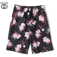 GUCCI New fashion more letter floral print shorts