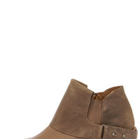 MTNG 93441 Faith Vagabundo Taupe Leather Western Booties