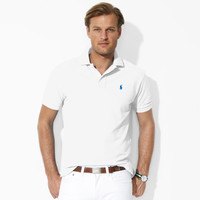 CLASSIC-FIT MESH POLO