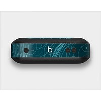 The Dark Vector Teal Jelly Fish Skin Set for the Beats Pill Plus