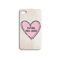 Cute Pink Heart Mrs Nash Grier Phone Case Sweet iPhone iPod Cover Cool Girly