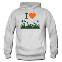 I love graduation from high school or college HOODIE