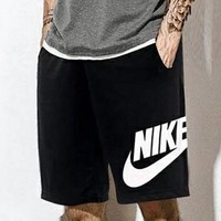 Nike sports shorts men summer pure cotton casual baggy pants running gym basketball shorts