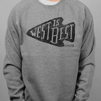 West Is Best pullover