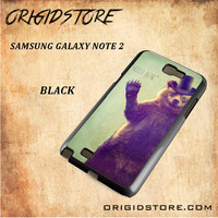 Hello Bear For Samsung Galaxy Note 2 Case Gift Present - Multiple Choice Material