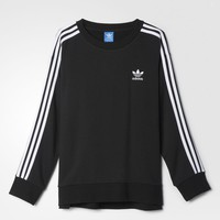 adidas 3STRIPES SWEAT - Black | adidas US