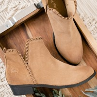 Best For You Leather Booties (Sand)
