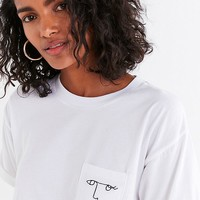 Future State Embroidered Face Tee | Urban Outfitters