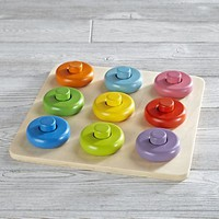 Roundabout Wooden Baby Puzzle